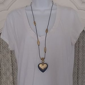"""Jewelry - Artsy  36"""" long necklace with matching earrings."""